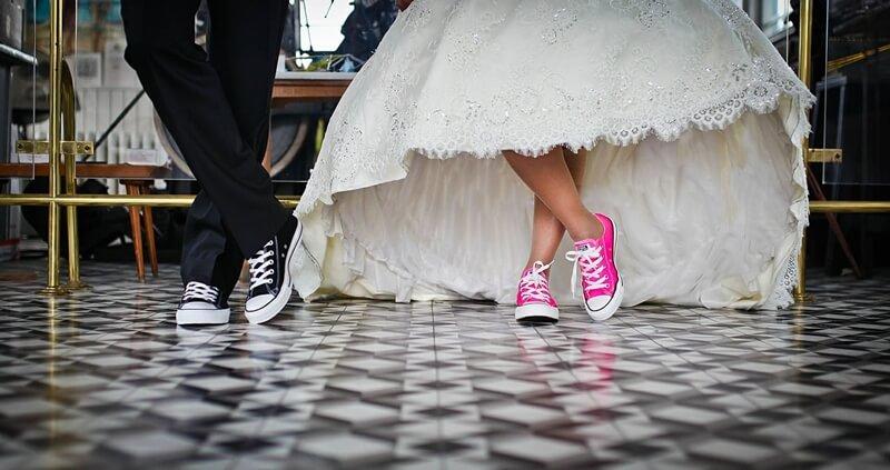 Heiraten in Turnschuhen